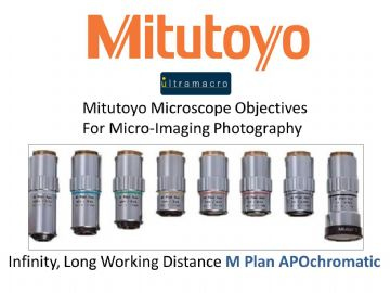 Mitutoyu Microscope Objectives